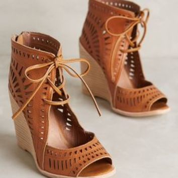 Jeffrey Campbell Rodillo Wedges Honey