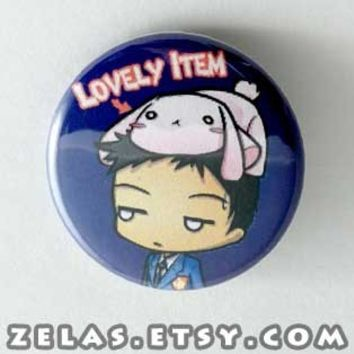 Ouran Host Club - Mori Sempai Button