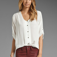 Yumi Kim Lizzie Blouse in White from REVOLVEclothing.com