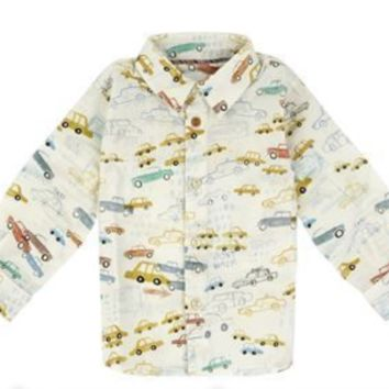 Paul Smith - Baby Boys Junior Moreno NYC Taxis Button Down Shirt