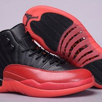 "Air Jordan 12 Retro AJ 12 ""Taxi"" ""Flu Game"" Men Women Basketball Shoes"