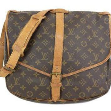 Used Louis Vuitton Monogram M42254 Women's Shoulder Bag Monogram