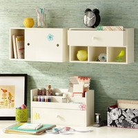 Get Organized Wall Storage | PBteen