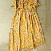 En Petit Floral Dress [3076] - $34.00 : Vintage Inspired Clothing & Affordable Fall Frocks, deloom | Modern. Vintage. Crafted.