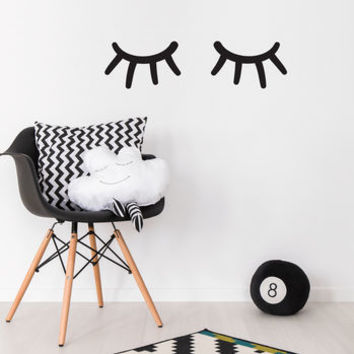Sleepy Eyes Wall Sticker