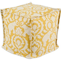 Dalia Pouf, Yellow/White, Poufs
