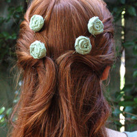 You Choose Custom Rustic Roses Hair Accessories Pick style, color, size, and amount