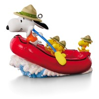 The PEANUTS® Gang Snoopy's White Water Adventure Rafting Ornament