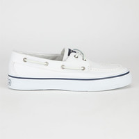 Sperry Top-Sider Bahama Mens Boat Shoes White  In Sizes