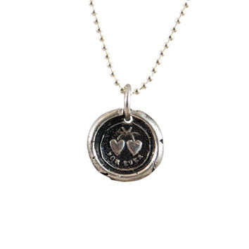 Uniting of Two People -Tiny Forever Hearts Wax Seal