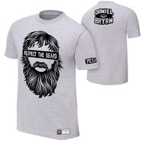 "Daniel Bryan ""Respect The Beard"" Authentic T-Shirt"