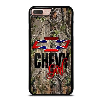 CAMO BROWNING REBEL CHEVY GIRL iPhone 8 Plus Case Cover