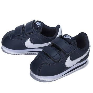 nike girls boys children baby toddler kids child breathable sneakers sport shoe  number 4