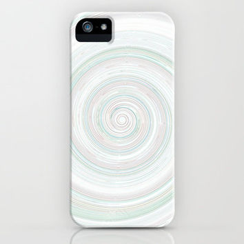 Re-Created Spin Painting No. 28 iPhone & iPod Case by Robert Lee