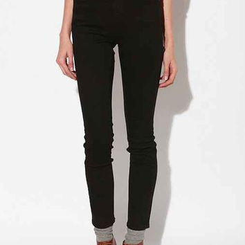 BDG Cigarette High-Rise Jean- Black 24/34