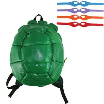 2017 Teenage Mutant Ninja Turtles Turtle Backpack Schoolbag Bag TMNT Cosplay Props Christmas Halloween Gift