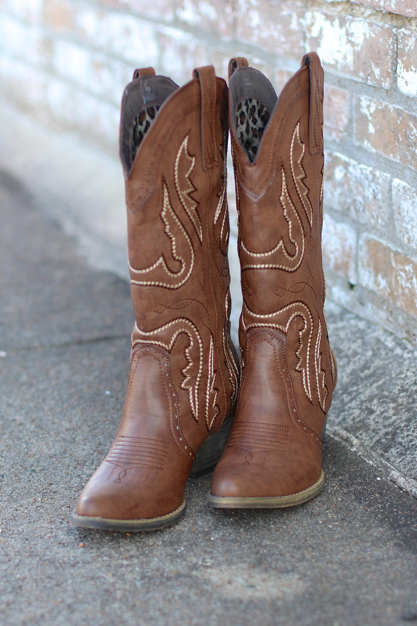 20317db00bc Very Volatile: Raspy Cowgirl Boots {Taupe}