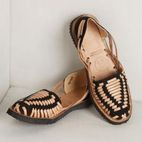 Highland Huaraches by Anthropologie Black 10 Flats