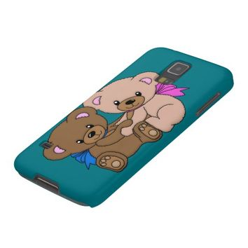 Cute Baby Bears Graphic Galaxy S5 Cover