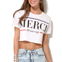 Lovers + Friends Merci Crop Top