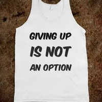 giving up - S.J.Fashion