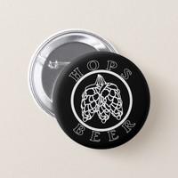 Hops Beer Button