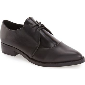 Jeffrey Campbell 'Gervaise' Leather Oxford (Women) | Nordstrom