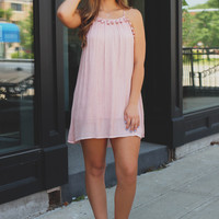 Sweet Splendor Dress - Blush