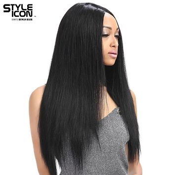 Styleicon Wig Lace Front Human Hair Wigs For Black Women Brazilian Remy Straight Lace Wig 10-24 Inch Free Shipping