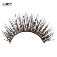 Fashion Lashes - 10 Pairs Pro High Quality Hand Made Synthetic Fiber Hair Thick Long Style False Eyelashes (3050) Free Shipping