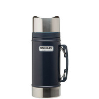 Stanley Classic Vacuum Food Jar Hammertone Navy One Size For Men 23242420001