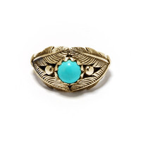 Reina Ring in brass