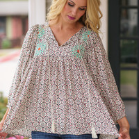 County Line Top - Ivory
