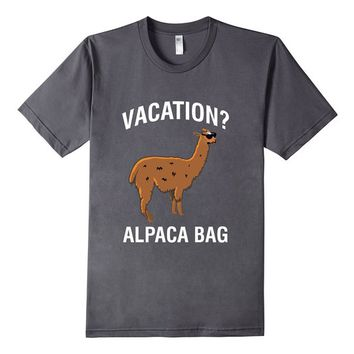 Vacation Alpaca Bag Funny Llama Shirt Vacation Shirt