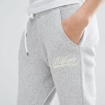 ONETOW Tommy Hilfiger Women Casual Sports Pants Trousers Sweatpants