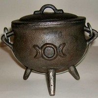 Triple Moon Midi Cauldron at Every Witch Way Online Shop