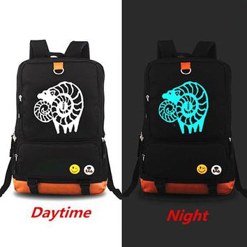 Japanese Anime Bag  Original The Seven Deadly Sins Backpacks Luminous Knapsack Teenagers Men Women's Student School Bags Travel Laptop bag AT_59_4
