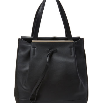 Furla Women's Twist Medium Drawstring Tote - Black