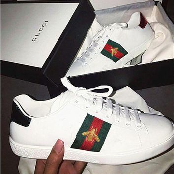 Fashion Online Trendsetter Gucci Fashion Embroidery Old Skool Sneakers Sport Shoes