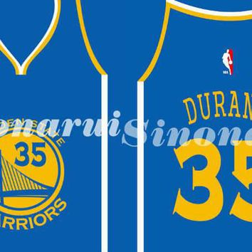 Golden State Warriors Number 35 Drawstring Bags Men Sports Backpack Digital Printing Pouch Customize Bags 35*45cm