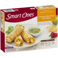 Smart Ones® Delicious Mexican Flavors Chicken Ranchero Mini Wraps 8 oz. Box - Walmart.com