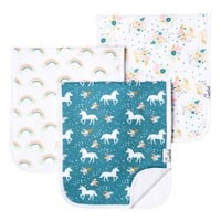 Premium Burp Cloths - Whimsy