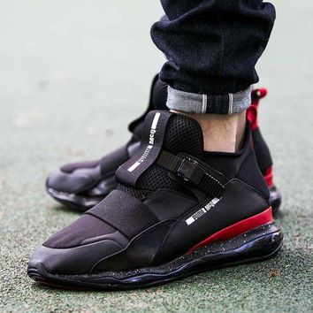 DCCKIJ2 Puma MCQ CELL MID Casual Shoes 360519 Sneaker Black Red