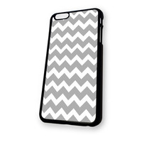 White grey Chevron iPhone 6 case