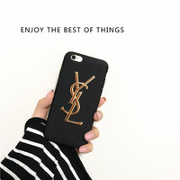YSL  FASHION LUXURY ENJOY THE BEST OF THINGS iPhone 7 7Plus 6 6s 6Plus 6s Plus