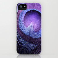 *** PURPLE PEACOCK ***  iPhone & iPod Case by SUNLIGHT STUDIOS Monika Strigel