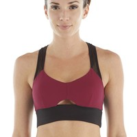 Michi Shiraz Wildcat Bra | Keyhole Sports Bra