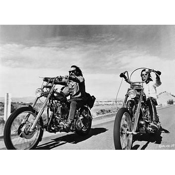 "Easy Rider Poster BW Choppers 24""x36"""