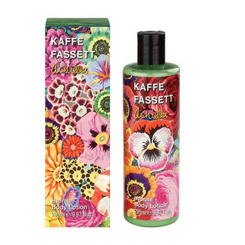 Kaffe Fassett Achillea Hydrate Body Lotion - 295ml. With active ingredients such as enriching cocoa butter, hydrating rose,