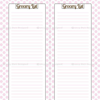Weekly To Do List- Editable PDF- Printable- Weekly Meal Planner- Home Organization- Instant Downloand- Custom- Printable Grocery List